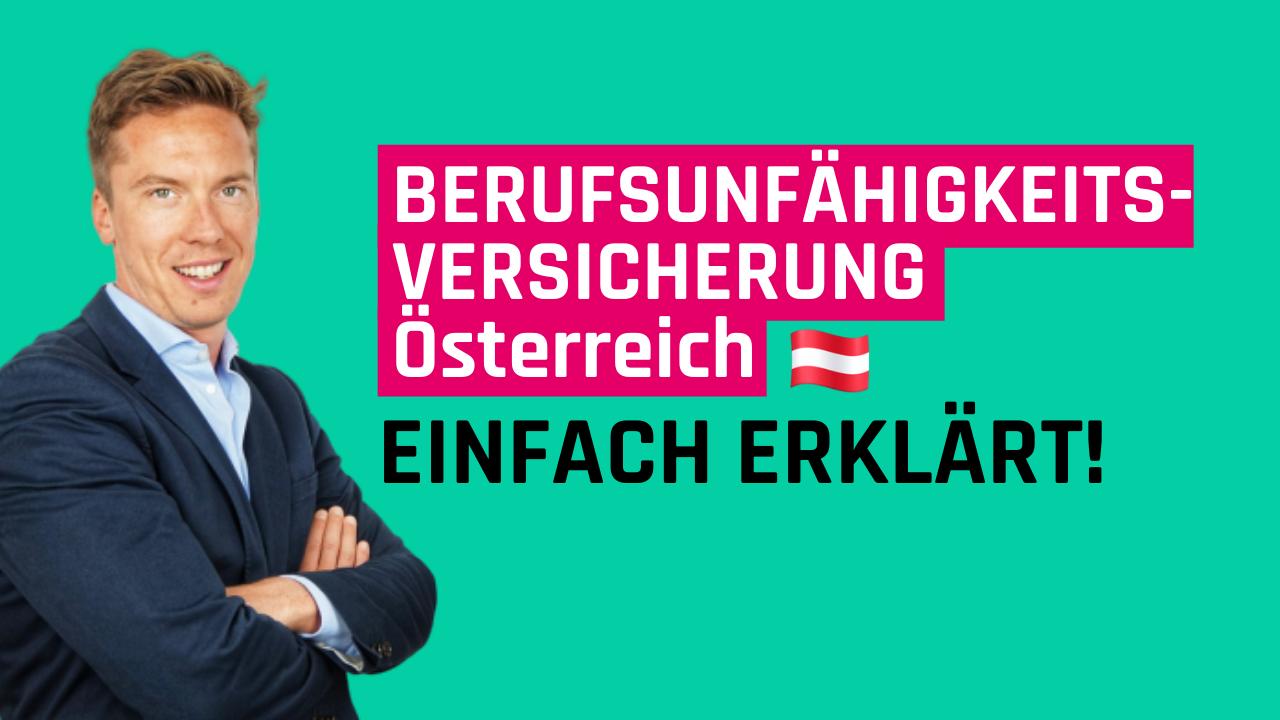 Berufsunfähigkeitsversicherung Österreich